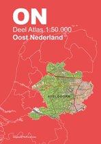 Topografische Atlas 1:50.000 Oost-Nederland