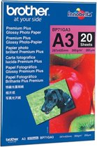 Brother Glossy foto paper A3 20 sheet