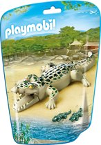 Playmobil Alligator met baby's - 6644