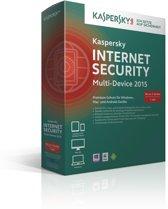 Kaspersky, Internet Security 2015 Multi Device RB (3 Devices) (German)