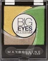 Maybelline Big Eyes - 02 Luminous Grass - Groen - Oogschaduw