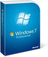 Microsoft Windows 7 Professional OEM DVD Engels - 1 gebruiker/licentie - 64-Bit