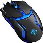E-blue Auroza Type LM Gaming Muis PC - Zwart