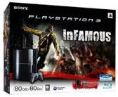 Playstation 3 80 GB & Infamous