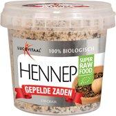 Lucovitaal Super Raw Food Hennep zaden - 170 gram -Voedingssupplementen
