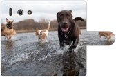 Huawei Ascend G510 Bookstyle Case Labrador retrieve