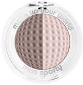Miss Sporty Studio Colour Duo Eye Shadow - 203 Steam Pink - Oogschaduw
