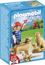 Playmobil Golden Retriever Familie - 5209