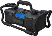 Bigben TR15G - Jobsite Radio waterproof en anti-shock  - Zwart/Grijs