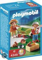 Playmobil Bolderwagen met Dieren - 4349