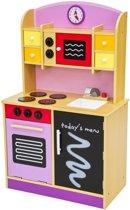 Janod Keuken Picnik : Kinderkeuken Speelgoed Speelkeuken uit hout lila 401236