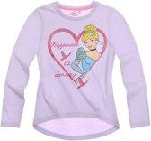 Disney Princess Meisjesshirt - Lila - Maat 104