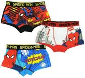 Spiderman Boxershorts (Set van 3) Maat: 104/110