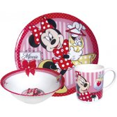 Disney Minnie Mouse Serviesset - 3-delig