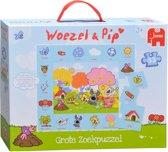 Woezel & Pip Grote Zoekpuzzel - Kinderpuzzel - 53 Stukjes