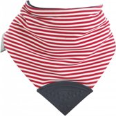 Neckerchew - French Chic - Rood met Witte Strepen