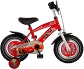 Yipeeh Disney Cars - Kinderfiets - 12 inch - Jongens - Rood