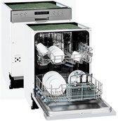 Exquisit EGSP2130E/B A++ Inbouw Vaatwasser