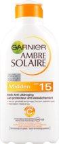 Garnier Ambre Solaire SPF 15 Ultra Hydraterend - 200 ml - Zonnemelk