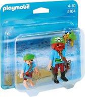 Playmobil DuoPack piraat en scheepsjongen - 5164