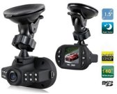 C600 Full HD Dashcam + LED (1080P) Autocamera