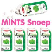 Q-Stevia MINTI 50 mints, 5x Pepermunt - made in Holland!