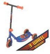 Mijn eerste step - scooter met 3 wielen van The Amazing Spiderman