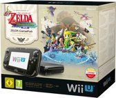 Nintendo Wii U 32GB Premium Bundel Zwart - Limited Edition + The Legend Of Zelda: The Windwaker HD