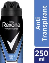 Rexona dry cobalt Men - 250 ml - deodorant spray
