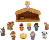 Fisher Price Little People Nativity - Kerststal - Speelfigurenset