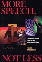 More Speech, Not Less