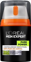 Men Expert Pure Power Hydraterend - 50 ml - Dagcrème