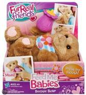 Fur Real Friends voed me Burpsie Bear