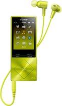 Sony NW-A25HN Walkman - Hi-Res audio MP3-speler - 16Gb - Geel