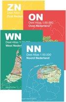 Topografische Atlas Nederland - Topografische Atlas Nederland 1:50.000