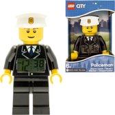 LEGO City Wekker Politiemanfigguur