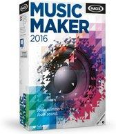Magix Music Maker 2015 - Nederlands / 1 Gebruiker / DVD