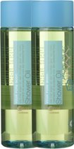 Etos Wellness Your Pure Body Shower Oil   - 2 X 200  ml - Douchegel