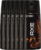 Axe dark temptation Body Spray - 150 ml - deodorant - 6 st - Voordeelverpakking