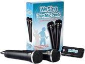 We Sing 2x Microfoons Zwart Wii