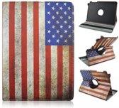 Samsung Galaxy Tab A 9.7 draaibare hoes met USA Flag