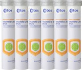 Etos Vitamine C 1500 Bruis Citroen - 6 X 20 Tabletten- Vitaminen