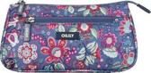 Oilily Winter Blossom Basic Cosmeticbag Denim