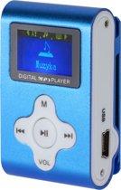 Mini MP3 Speler met LCD - Blauw 2.0