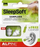 Alpine - SleepSoft - Slapen - Zacht materiaal - Oordoppen - 1 paar