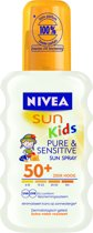 Nivea Kids Pure en Sensitivespray - Bf50 - ??ml