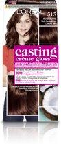L'Oréal Paris  Casting Crème Gloss 515 Licht Kastanjebruin