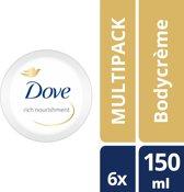 Dove rich nourishment  - 150 ml - body crème - 6 st - voordeelverpakking