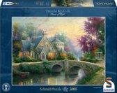 Kinkade Verlicht Landgoed - Legpuzzel
