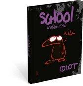 Vis Idiot Schoolagenda 2015 - 2016 (midi)